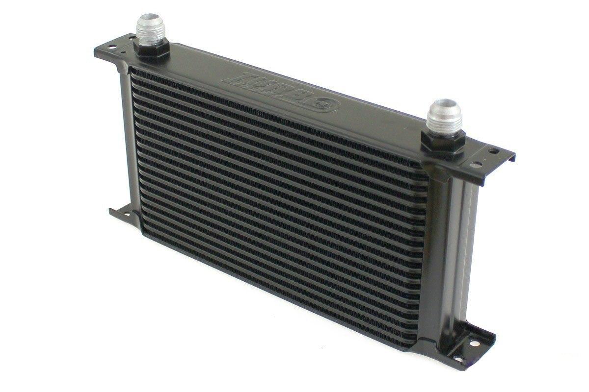 Chłodnica Oleju TurboWorks 19-rzędowa 260x150x50 AN10 Black - GRUBYGARAGE - Sklep Tuningowy